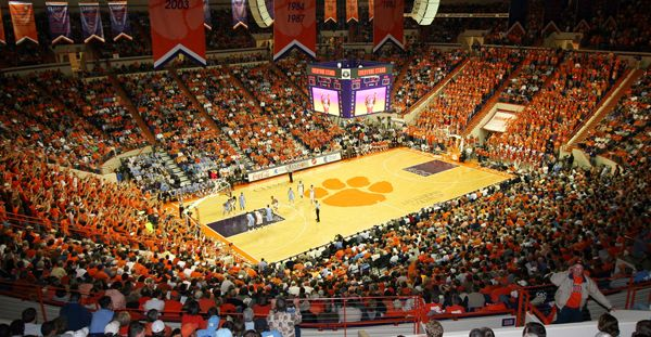 The home of Clemson basketball since the late 1960s, Littlejohn Coliseum, will live on as host of ACC basketball for decades to come. Description from sportstalksc.com. I searched for this on bing.com/images