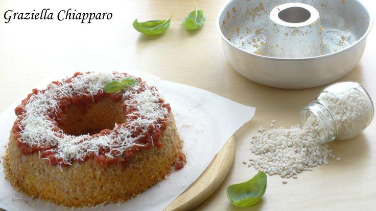 Ciambella+di+riso+con+pomodoro+e+mozzarella+|+Ricetta