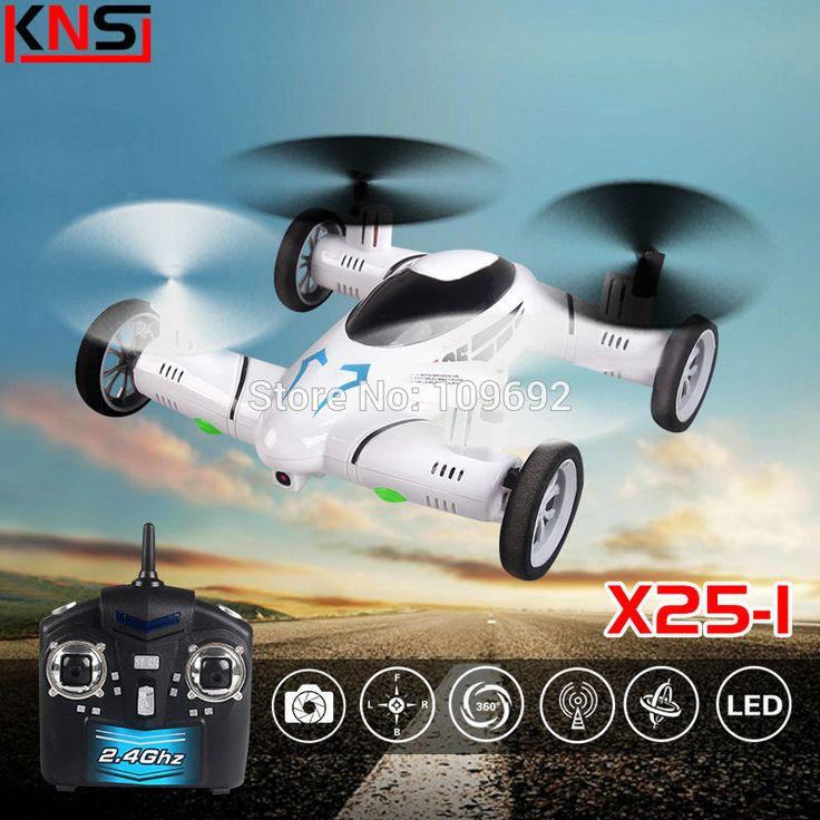 KAINISI X25-1 SY X25 Diperbarui Versi Mobil Terbang 2.4G RC Quadcopter 6-Axis Drone 4CH Dapat Menambahkan Kamera 2MP HD helikopter