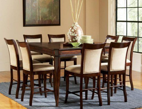 15 Best Furniture  Dining Room Sets Images On Pinterest  Table Beauteous 9 Pcs Dining Room Set Design Decoration