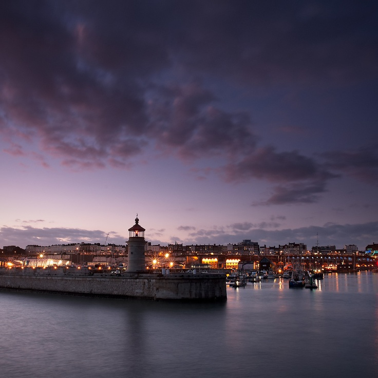 """""""The Twilight Hour,"""" Ramsgate, England (by shadegate64)"""
