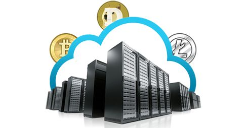 Web hosting services for cryptocurrency