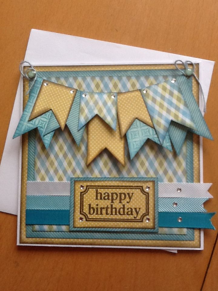 Charming Masculine Card Making Ideas Part - 6: Male Card