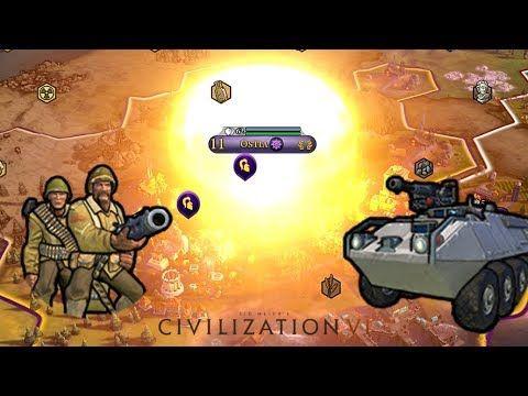 Civ 6 Modern Warfare Footage #CivilizationBeyondEarth #gaming #Civilization #games #world #steam #SidMeier #RTS