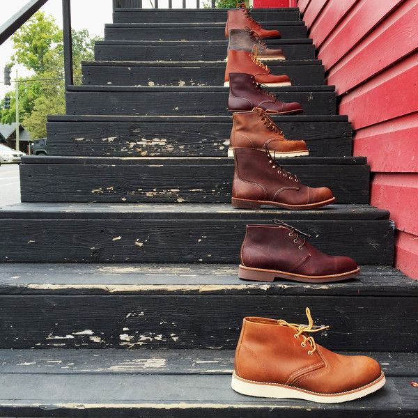 Red Wing Shoes | Round Toe Oro Legacy | 8822