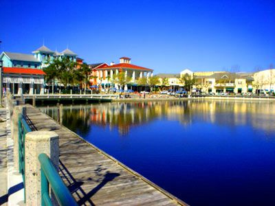 Celebration, FL: where each day is like living in Disney World. Not really... It just a normal great life thought!