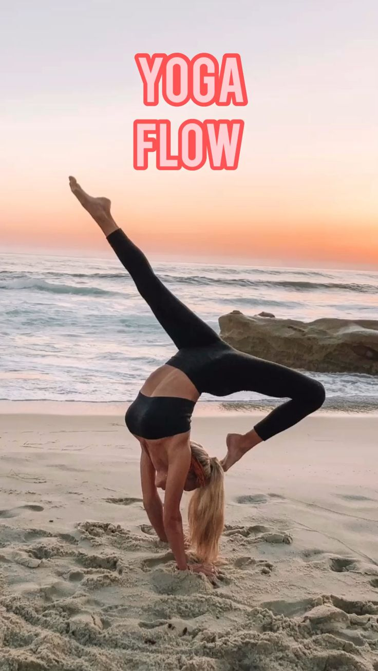Yoga Flow- Follow @ambrymehr IG for free workouts!