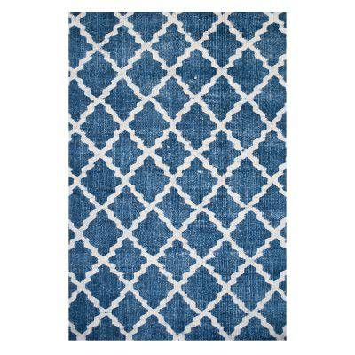 Stonewashed matta blå, 140x200