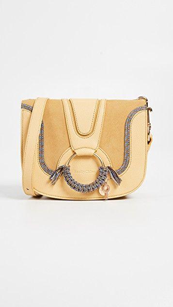 66f3bcb5fd0d8 Hana Medium Saddle Bag | Bags | Bags, Saddle bags, See by chloe