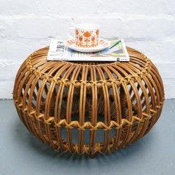 Small 1950s' lobster pot stool vintageactually.co.uk