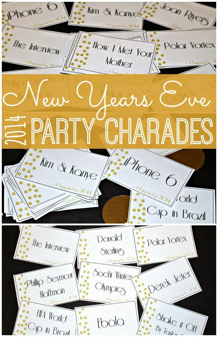 New Year's Eve Printable Game New years eve day, New