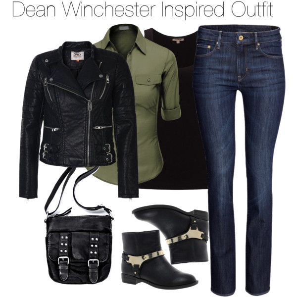 185 Best Images About Supernatural Inspired Outfits On Pinterest | Dean Winchester Hunter ...