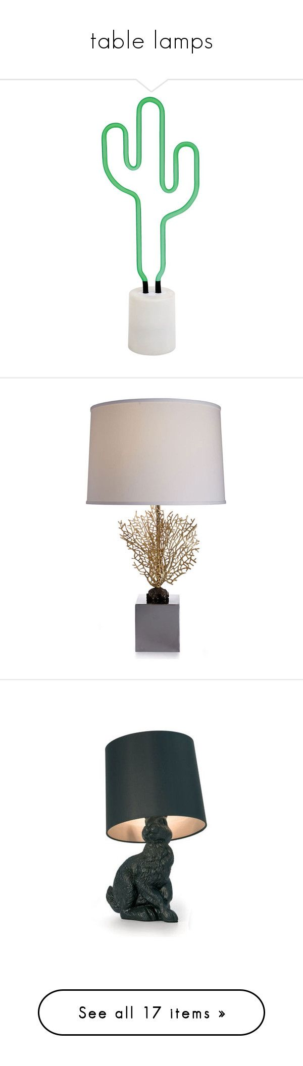 Best 25 southwestern lamps ideas on pinterest southwestern table lamps by youngx liked on polyvore featuring home lighting cactus southwestern arubaitofo Images