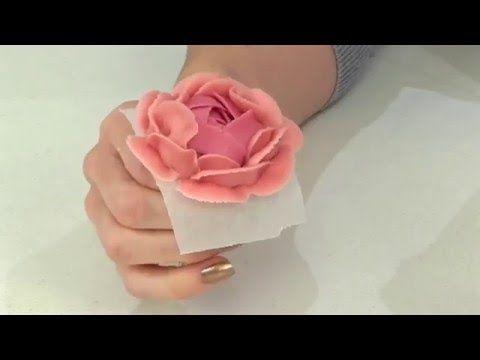 Как сделать кремовые цветы