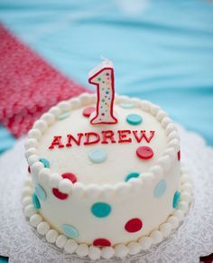 1st birthday cake smash red white and blue - Google Search