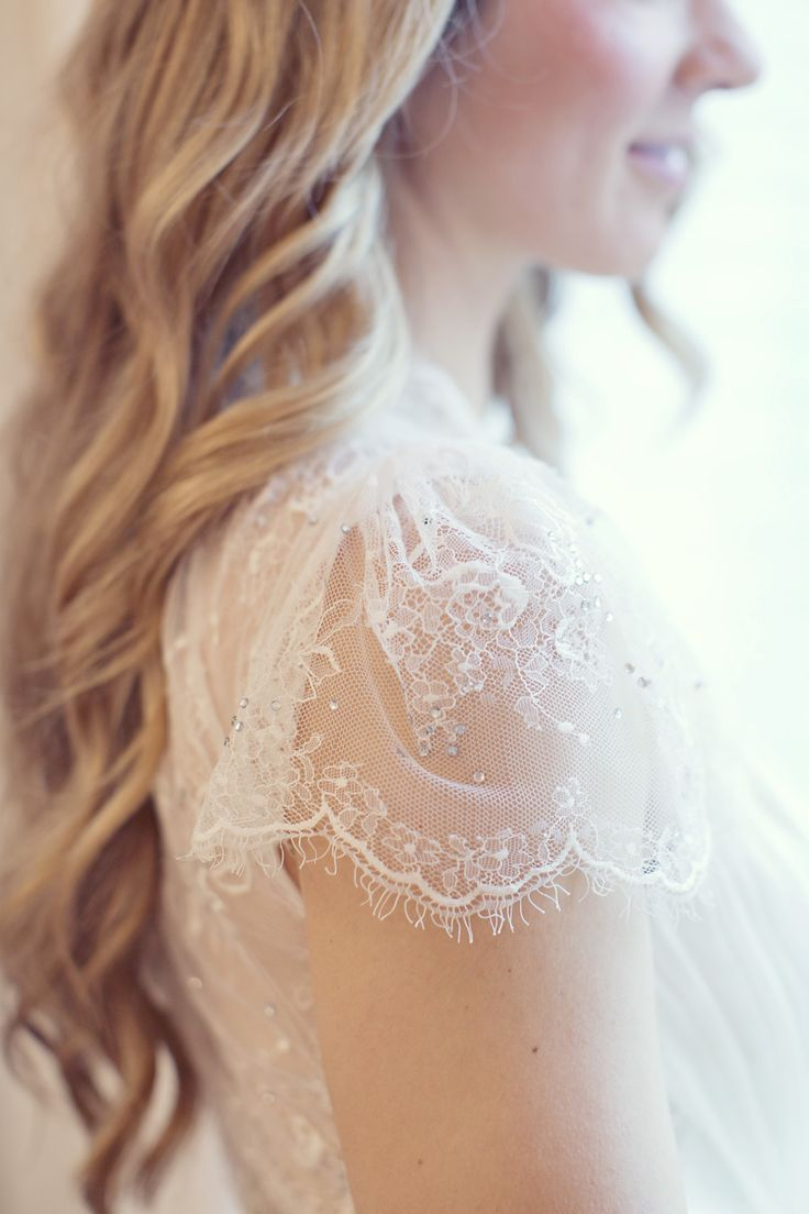 Beautiful detailing on this @Jenny Packham gown | Paris Elopement from Sarah Kate Photography  Read more - http://www.stylemepretty.com/destination-weddings/2013/11/07/paris-elopement-from-sarah-kate-photography/