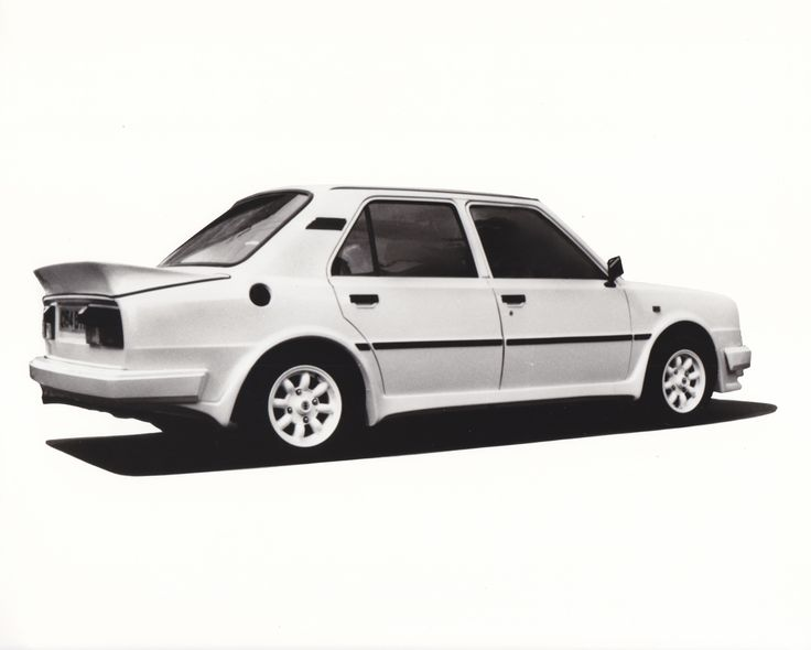 Skoda Estelle Two with special bodywork (UK)