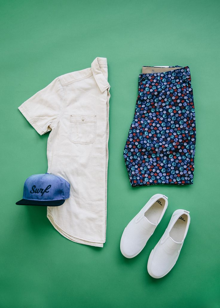 Sun's out, surf's up. Wearing our new printed shorts and cool accessories all summer long. Shop all new men's arrivals from Gap.