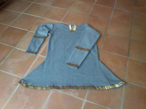 Túnica vikinga de hombre - Man viking tunic - wool tunic - winter tunic - celtic tunic