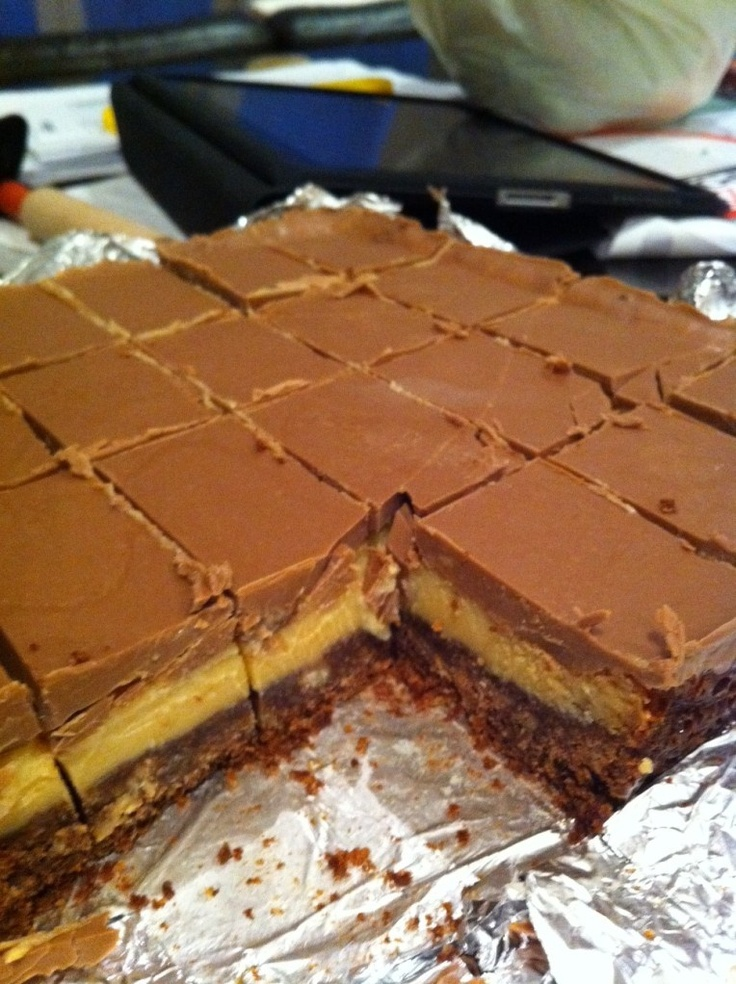 Double Chocolate Caramel Slice - in the Thermomix