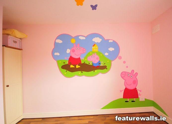 Wall mural  Fairy RoomKids Bedroom IdeasKids RoomsKid BedroomsGirls BedroomPeppa  PigBig. 41 best Kids bedroom ideas images on Pinterest   Bedroom ideas