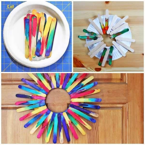 14 idées d'activités avec des bâtonnets de glace qui vont ravir vos enfants