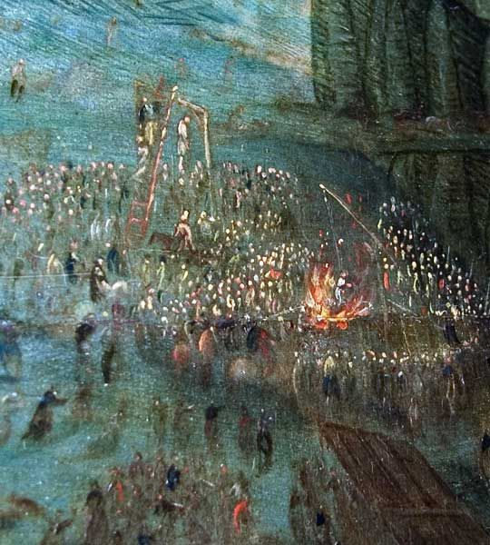 This event is a series of executions, common throughout the 16th century Europe in both Protestant and Catholic countries.