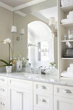 decorating the guest bath bathroom bathroom bath traditional rh pinterest com Sconce Lights Mounted On Mirrors Sconce Lights Mounted On Mirrors