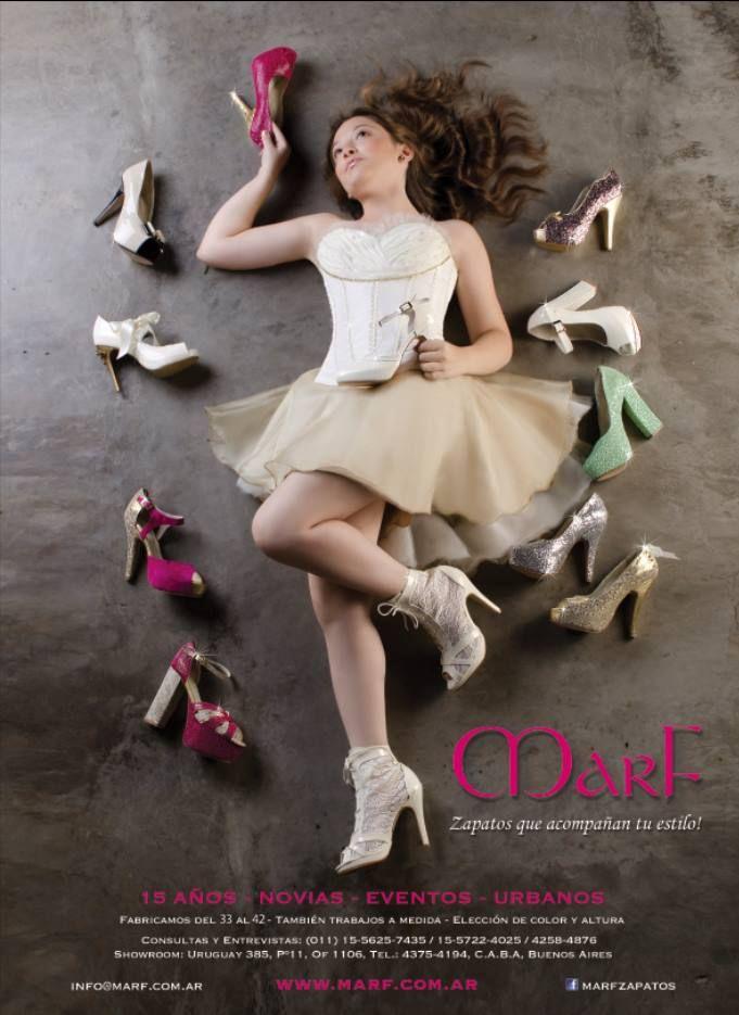 MarF Zapatos en Revista Fifteen edicion mayo 2015