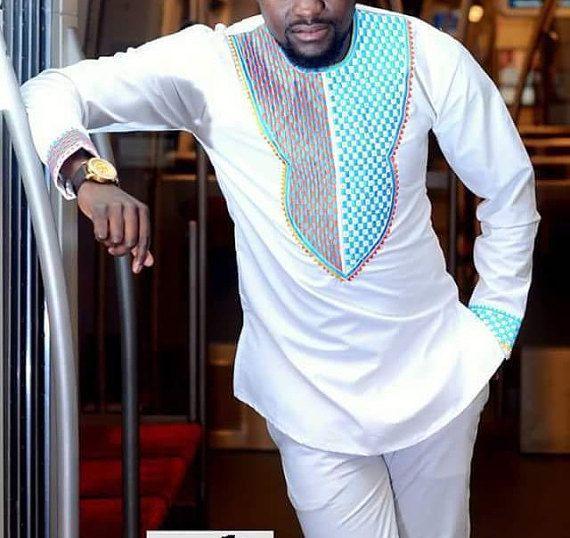 Ropa africana para hombres  Dashiki  Hombres africanos ropa