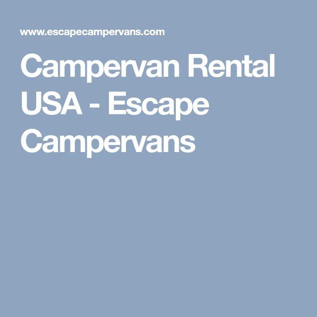 Best 25 Campervan Rental Ideas On Pinterest