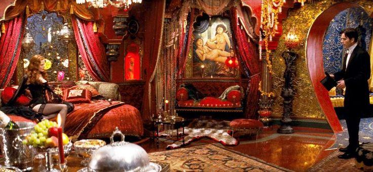 moulin rouge movie elephant room | Set Decoration. Ficticious ...