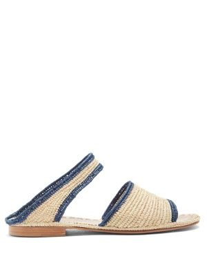 Ahmed raffia sandals | Carrie Forbes | MATCHESFASHION.COM US