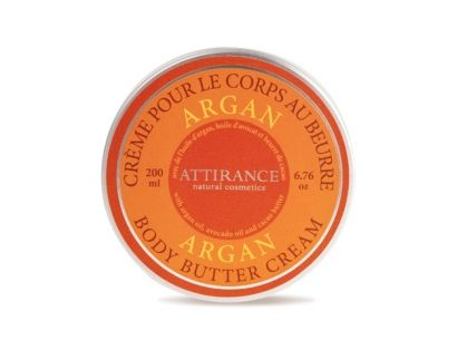 Argan Body Butter Cream 200 ml True elixir of youth from the Mediterranean Sea. The cream contains argan oil that comes from small area at the Western Mediterranean coast and is known as a unique beauty product. Your skin becomes elastic, smooth, improves the overall skin health and vitality. It is protected from early ageing.