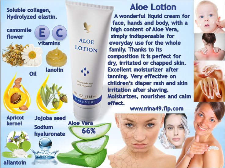 Aloe Lotion order at www.nina49.flp.com