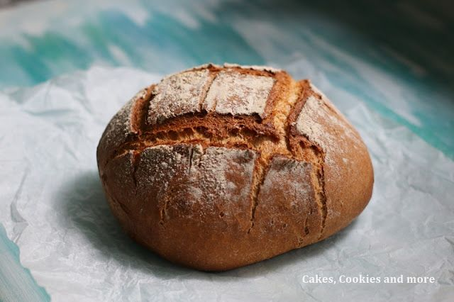 Cakes, Cookies and more: World Bread Day 2016 - Homemade Caraway Bread Reci...