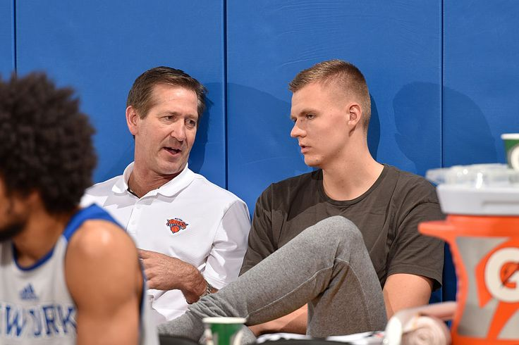 Report: Jeff Hornacek Told Kristaps Porzingis to 'Stop Playing Like a Pu**y'