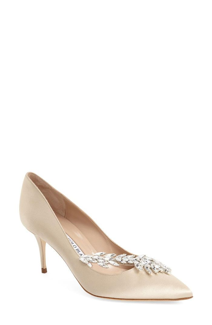 DESIGN Powerful high heeled court shoes in beige Beige