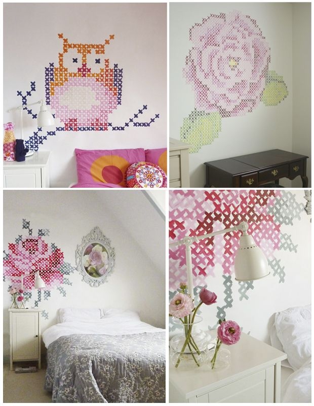 10 best images about colgar on pinterest embroidery for Ideas para decorar las paredes de mi cuarto