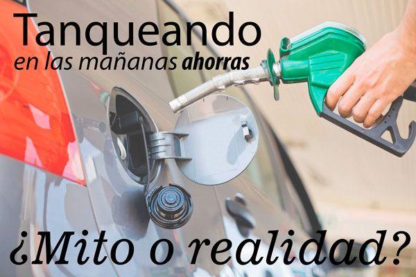 Expertos sobre fluidos explican que la gasolina es más densa y de mejor composición en las mañanas