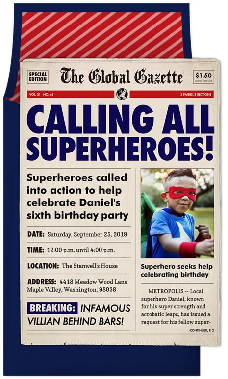 Calling All Superheroes by Signature Greenvelope @Greenvelope