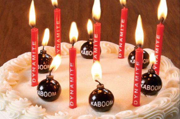Kaboom!! candles