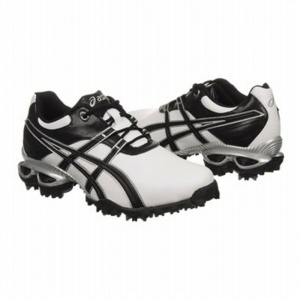 Asics EC1231606 Golf Cleats Mens White Synthetic - ONLY $99.95