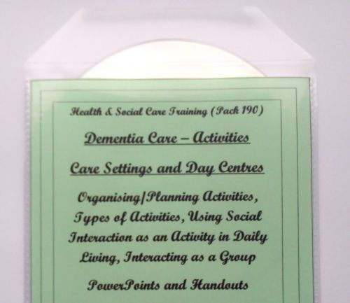 Training Resources CD Dementia Care Activities and Care Planning Bundle P190