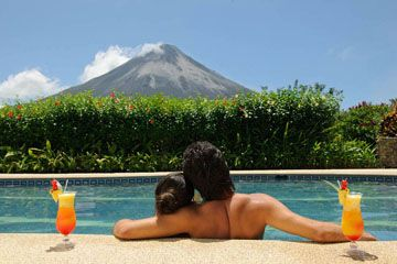 Arenal Kioro pool- from Costa Rica Experts romantic honeymoon vacation packages