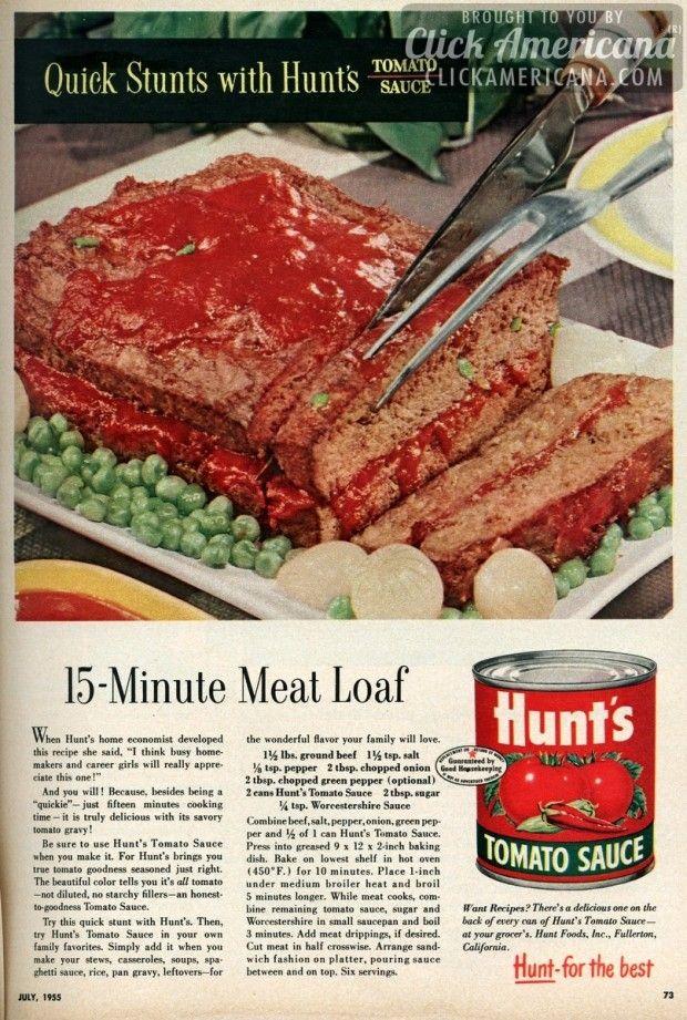 15-Minute Meat Loaf recipe