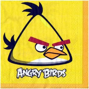 A513710 - Angry Birds Luncheon Napkins  Please note: approx. 14 day delivery time www.facebook.com/popitinaboxbusiness
