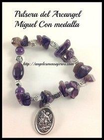 Angel bracelet. pulsera del arcangel Miguel-pulsera de los arcangeles-pulseras de angeles