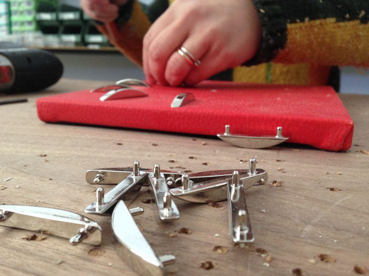 Dopo la splendida esperienza ad Homi Milano, ci rimettiamo subito al lavoro e riprendiamo la nostra produzione artigianale. www.gioacchinobrindicci.it
