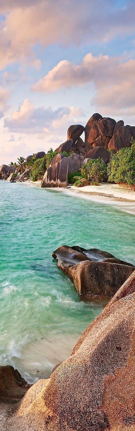 La Digue Beach, Sechelles, Indian Ocean